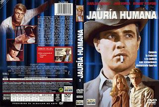 Carátula dvd: La jauría humana (1966) The Chase