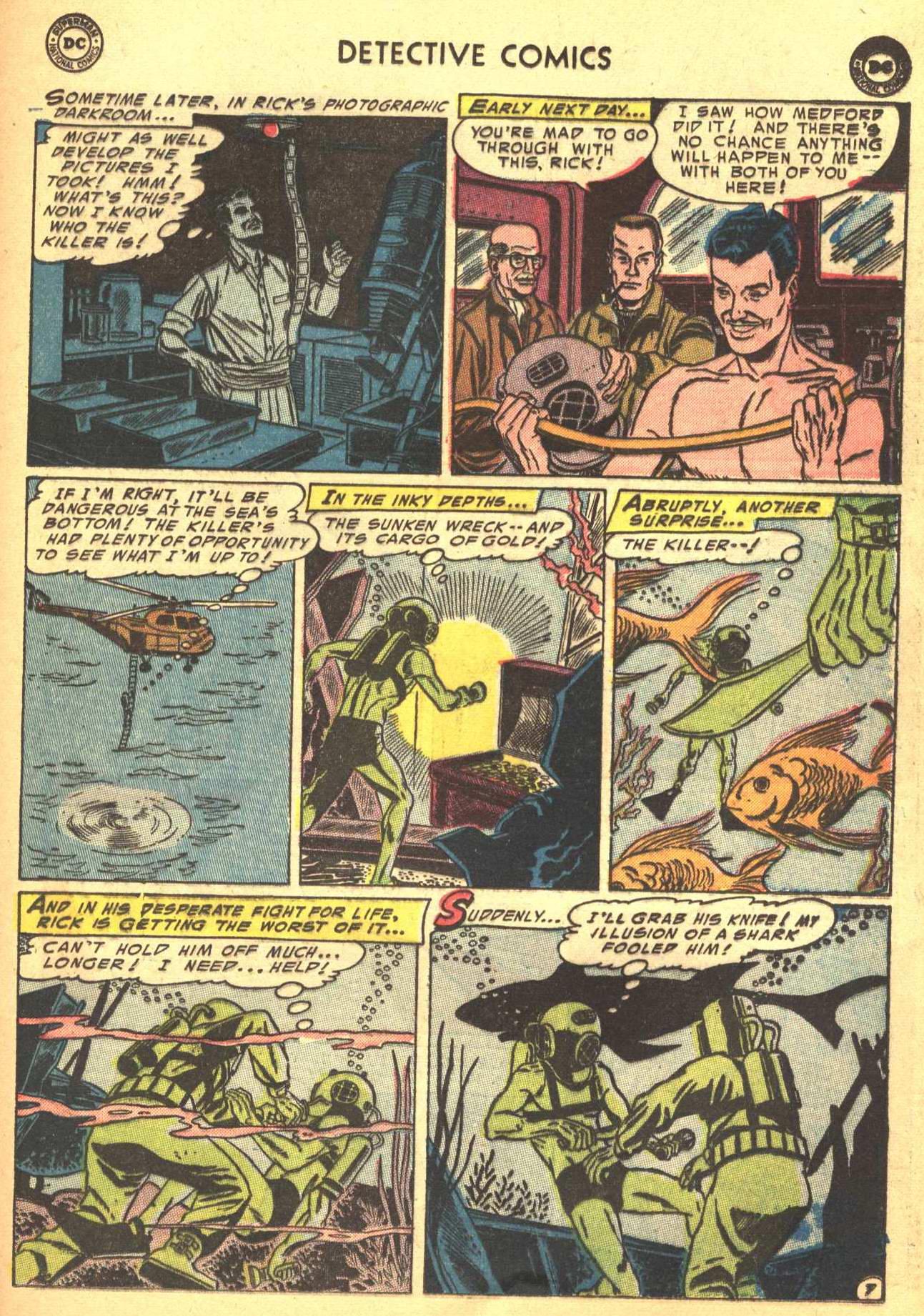 Read online Detective Comics (1937) comic -  Issue #206 - 28