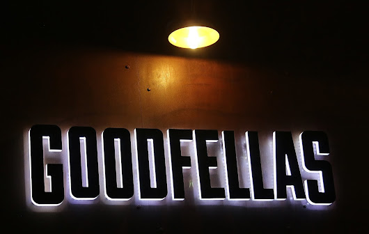 Goodfellas Pizzeria at the James Pepper Distillery
