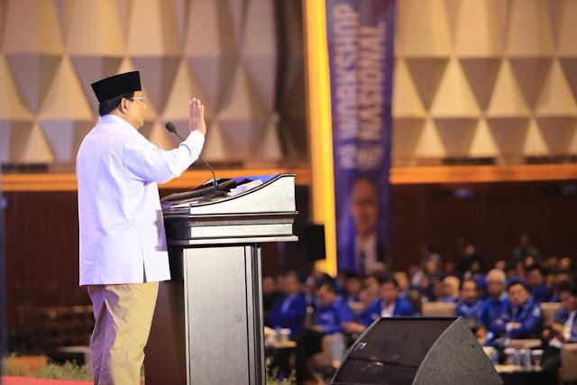 Prabowo: Kekayaan Indonesia Dibawa ke Luar Negeri, Tinggal Utang
