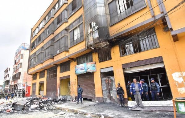 En febrero de 2016 seis personas fallecieron tras la quema de la alcaldía / ARCHIVO