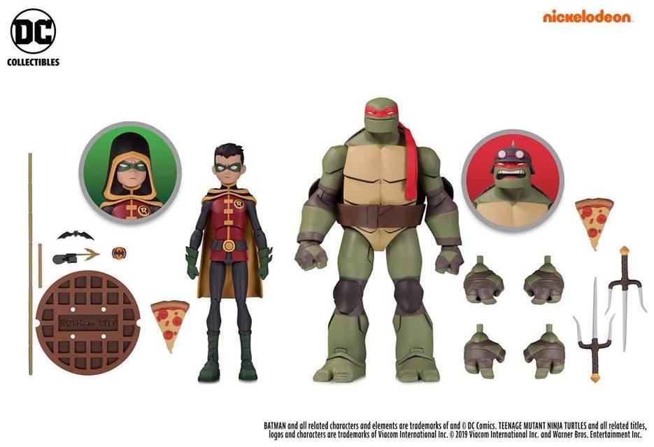 Teenage Mutant Ninja Turtles Bonus 2-Pack Fighting Gear Michelangelo /& Ninja Knights Donatello Action Figure Pack Playmates
