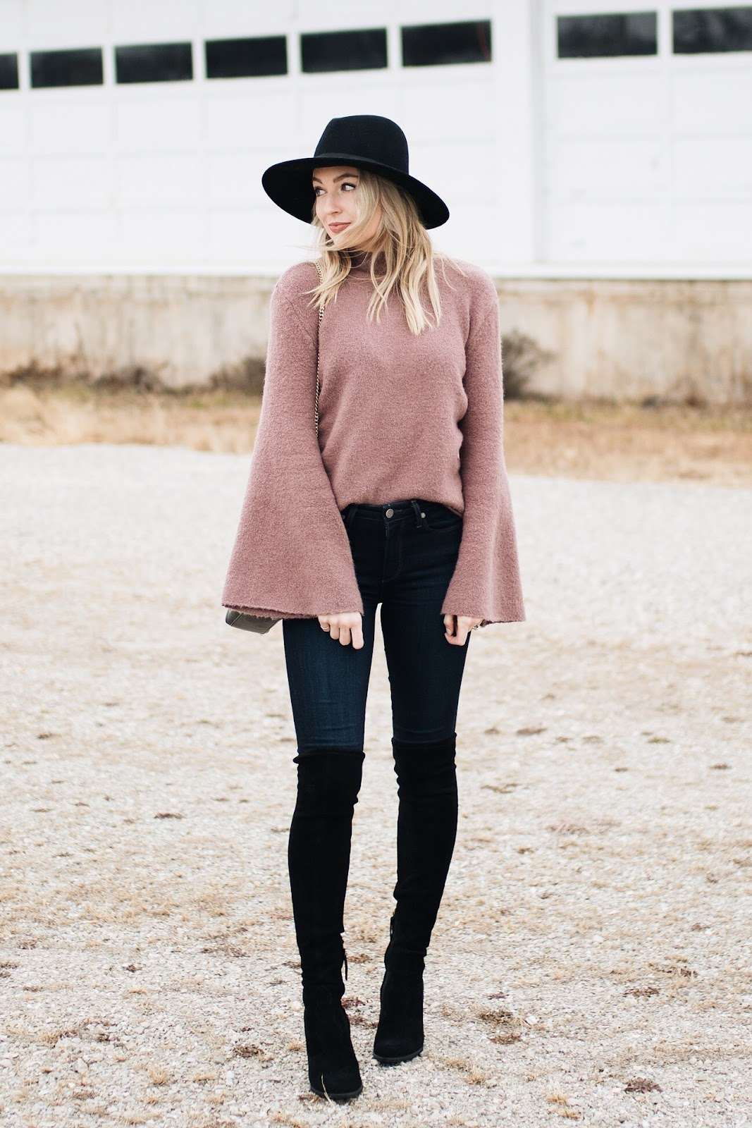 winter dressy casual - how to dress up a sweater