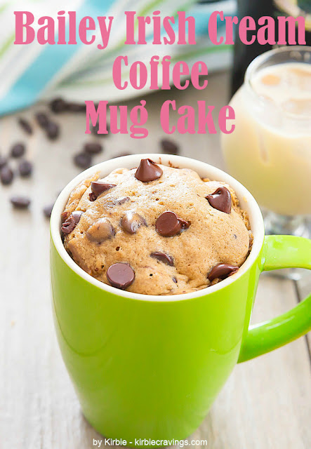 Bailey Irish Cream Coffee Mug Cake