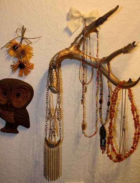 Deer Antler Jewelry Display