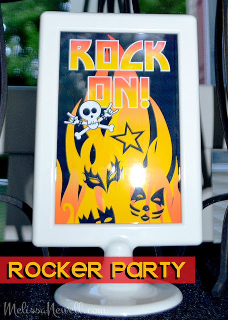 rocker party, KISS, rock on, rock party, rock star party, rock n roll