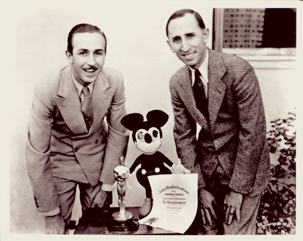 walt and roy disney relationship
