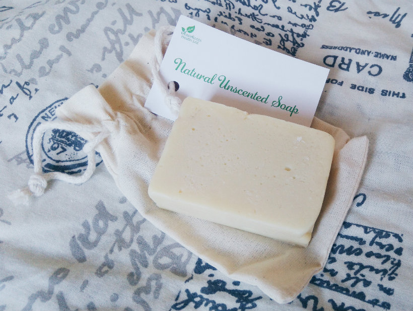 Grassroots Health Unscented Soap Bar