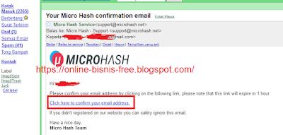 Cara Mining Bitcoin MicroHash
