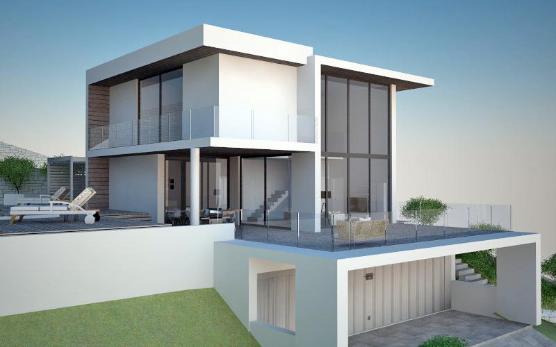 Arredamento e dintorni progetto villa moderna in sardegna for Progetto villa moderna