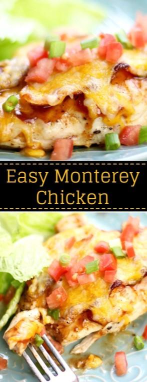 Easy Monterey Chicken