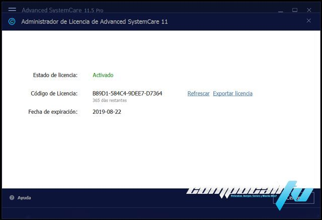 advanced systemcare codigo