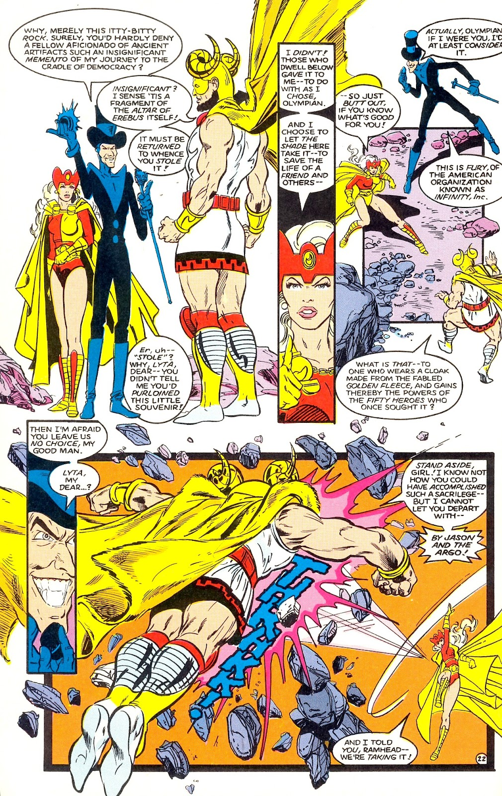 Infinity Inc. (1984) issue 35 - Page 24