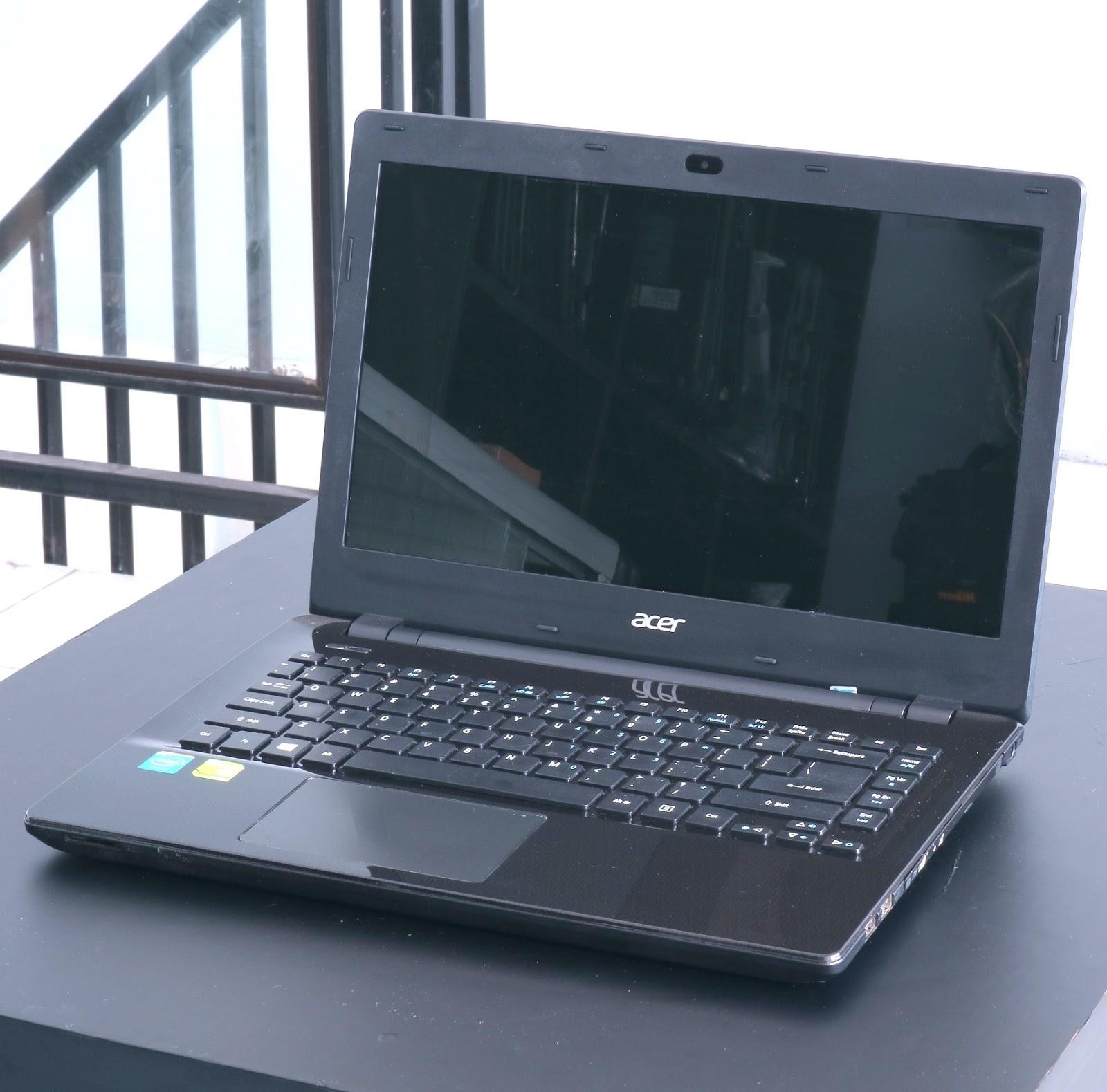 Laptop Gaming Acer E14 E5-411G | NVIDIA 820M | Jual Beli
