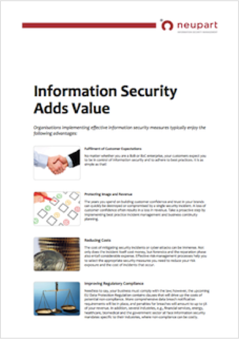 Why in the world should managers be interested in information security?
