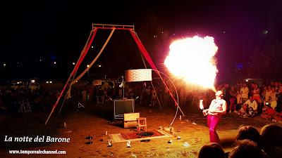 Spettacolo fuoco vulKan