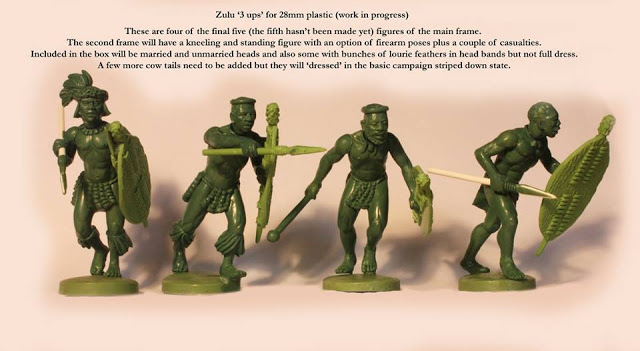 Perry Miniatures: Plastic British Zulu War Zulu Warriors