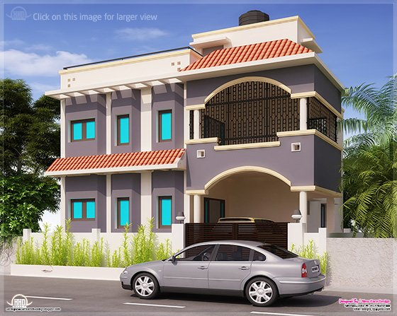 1675 sq-ft Tamilnadu home