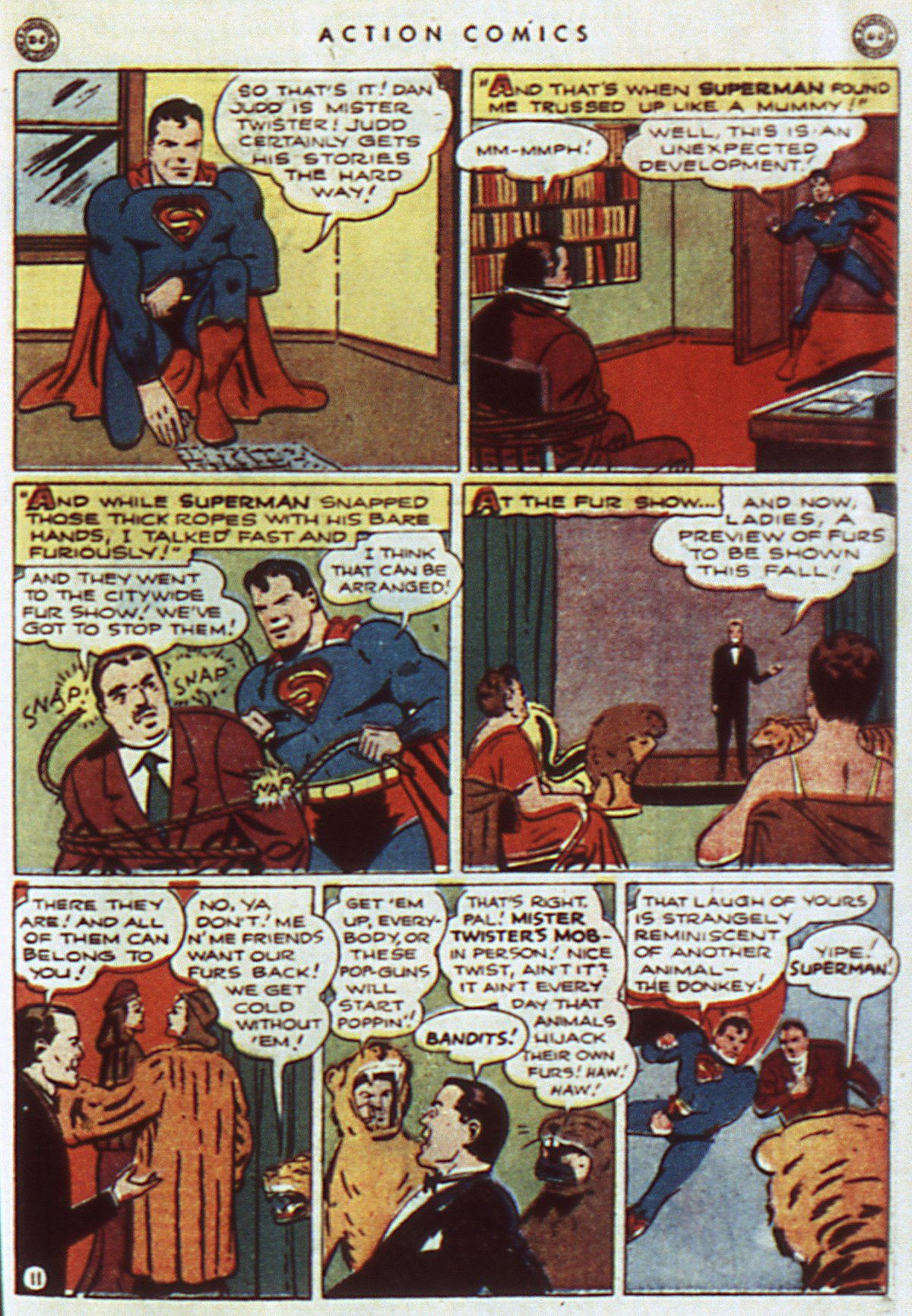 Read online Action Comics (1938) comic -  Issue #96 - 13