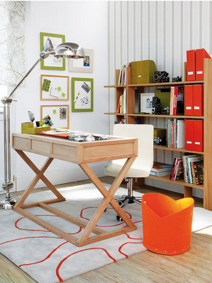 5 Tips for Organizing a Small Home Office 7