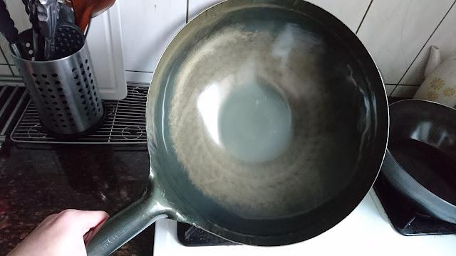 日本山田鐵鍋—33cm中華炒鍋開箱與開鍋 - 豬香世家