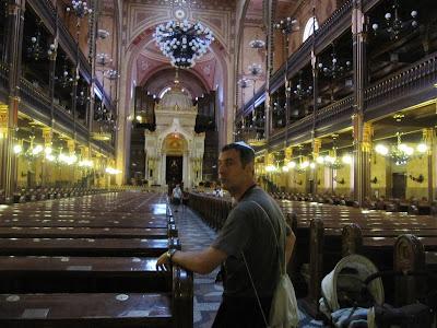 interior sinagoga de budapest