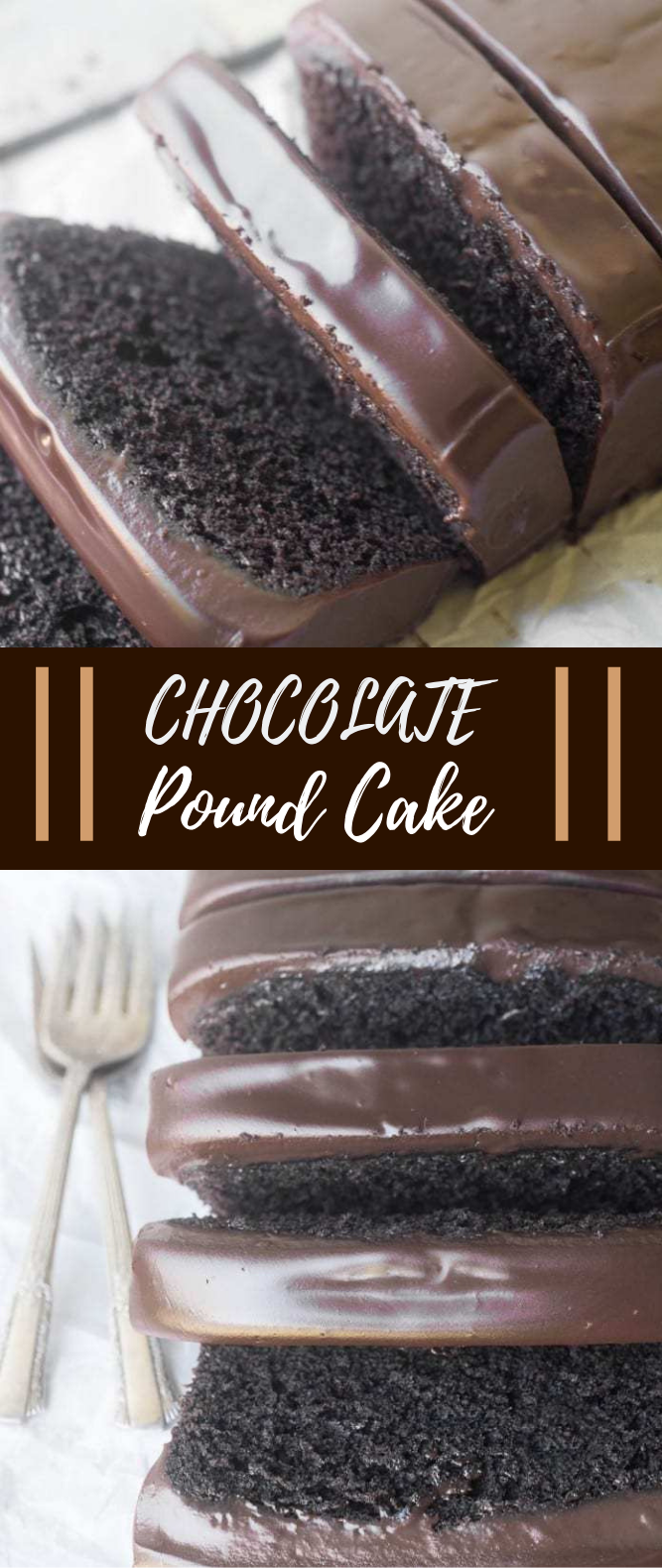 CHOCOLATE POUND CAKE #Dessert #Choco