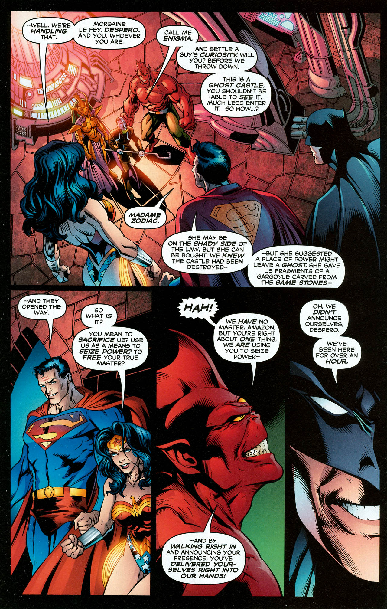 Read online Trinity (2008) comic -  Issue #15 - 12