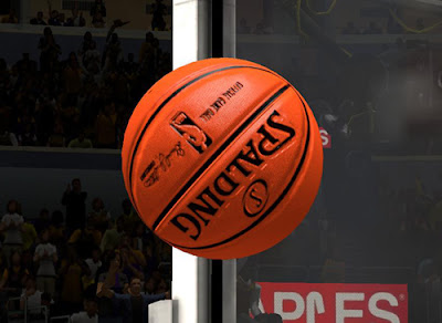 NBA 2K13 HD Spalding Basketball Mod Pack
