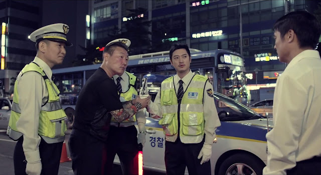 Control de alcoholemia en Seúl