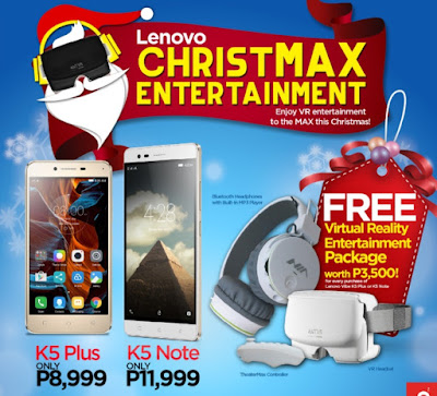 Lenovo Christmas Promo; Get Freebies And Discounts On Select Devices