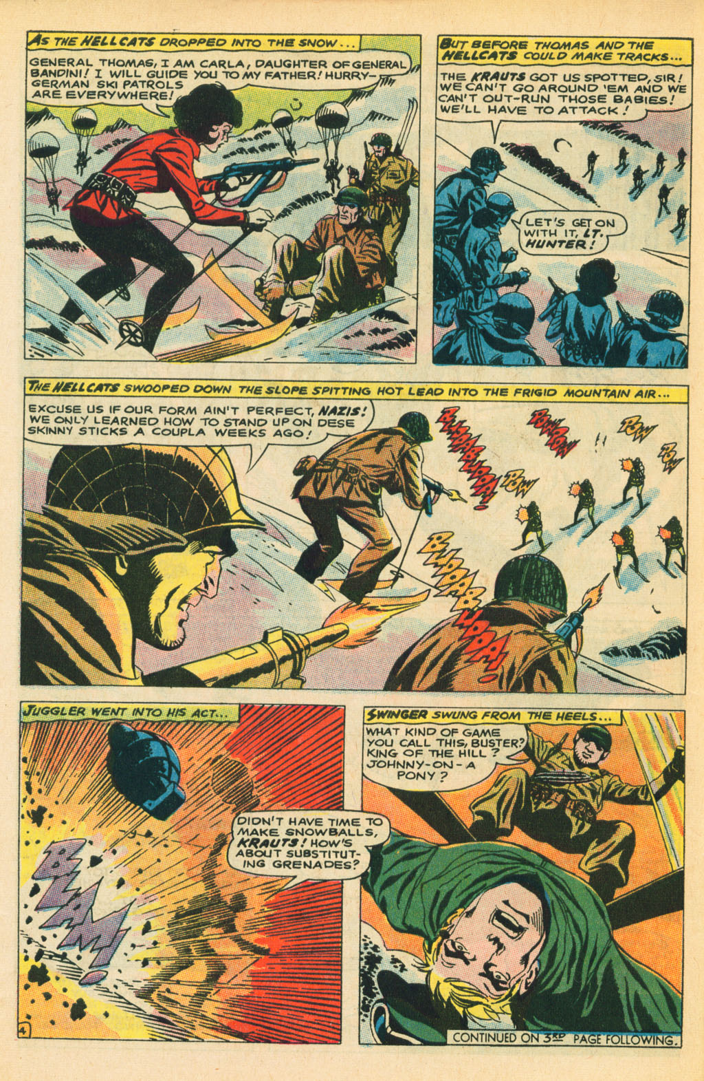 Our Fighting Forces (1954) issue 110 - Page 6