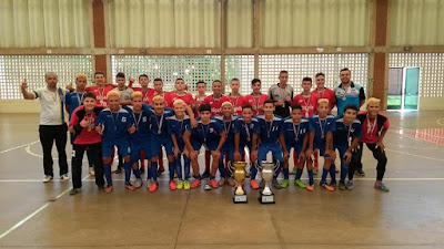 Registro-SP conquista inédito vice-campeonato na Copa Estadual de Futsal