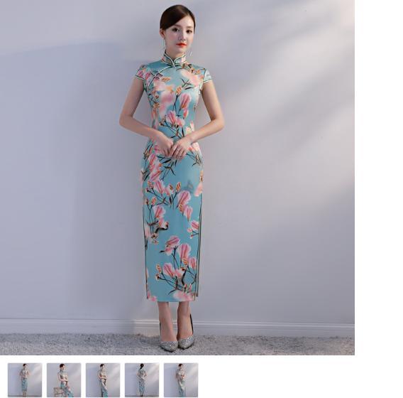 9e0f348428e4b Vintage Print Flower Traditional Chinese Dress Elegant Women Satin ...