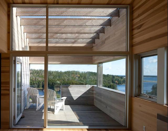 The Sliding House in Nova Scotia