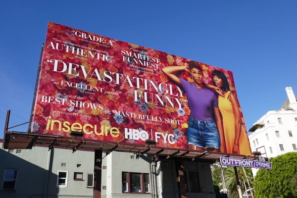 Insecure season 3 HBO FYC billboard