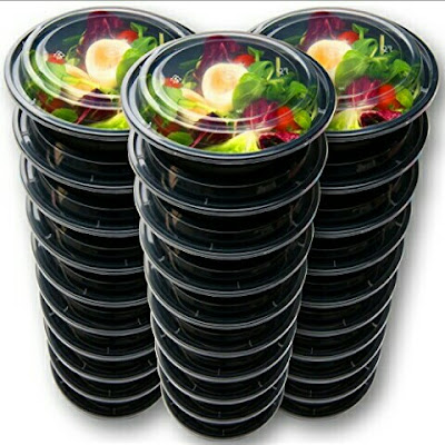 Prep Food Storage Containers with Lids