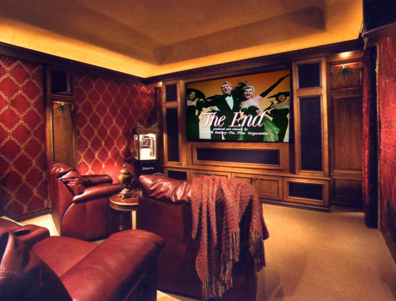 Life in the Barbie Dream House: Fabulous Media Rooms!