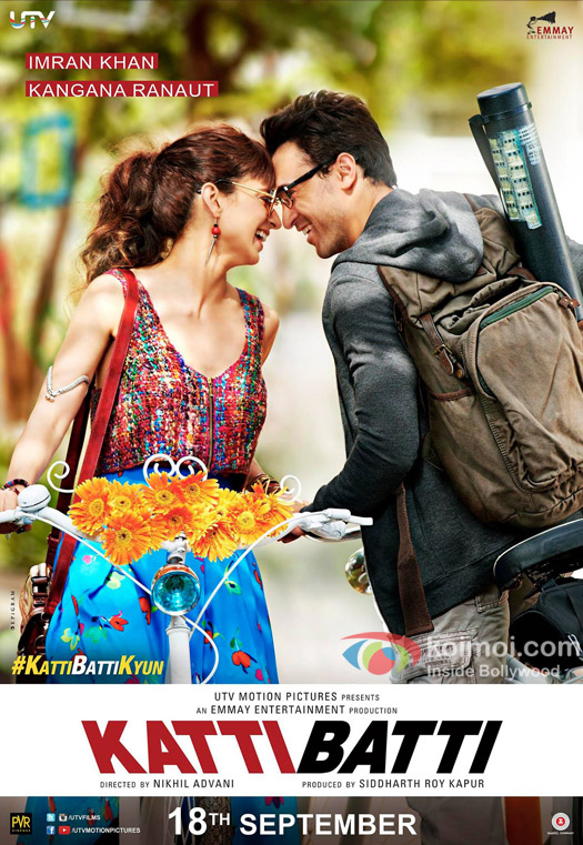 Katti Batti 2015 Hindi DVDRip 480p 400mb bollywood movie katti batti dvd rip 480p compressed small size free download or watch online at https://world4ufree.ws