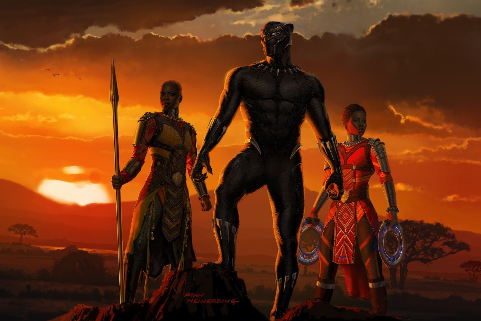 The blot says d23 expo exclusive black panther concept for Concept expo