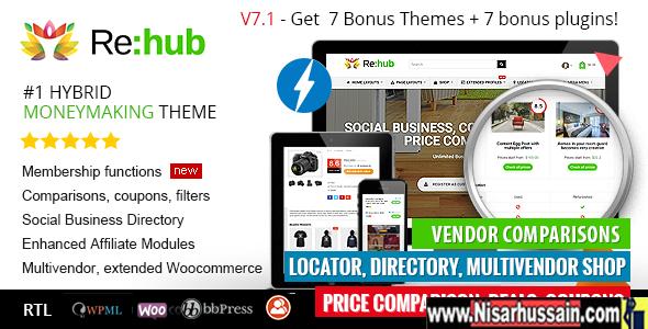 REHub Price Comparison, Business Community Premium Version
