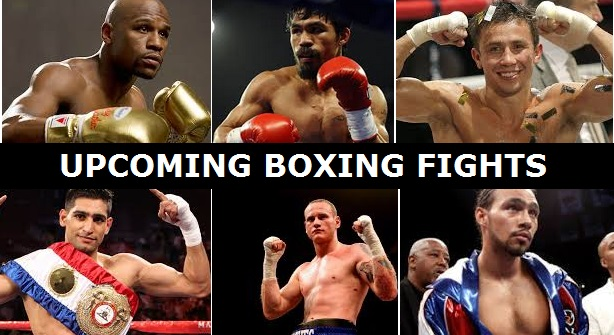 Upcoming Boxing Fights And Big PPV Events