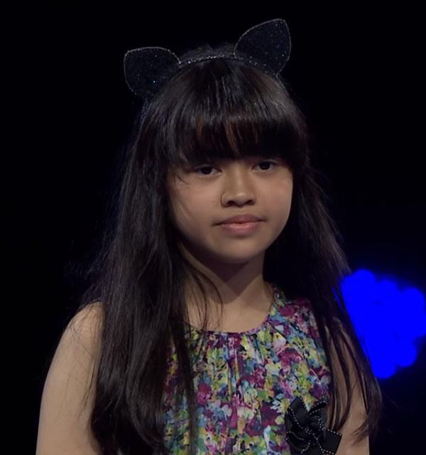 raisa Peserta The Voice Kids Indonesia 26 Oktober 2017