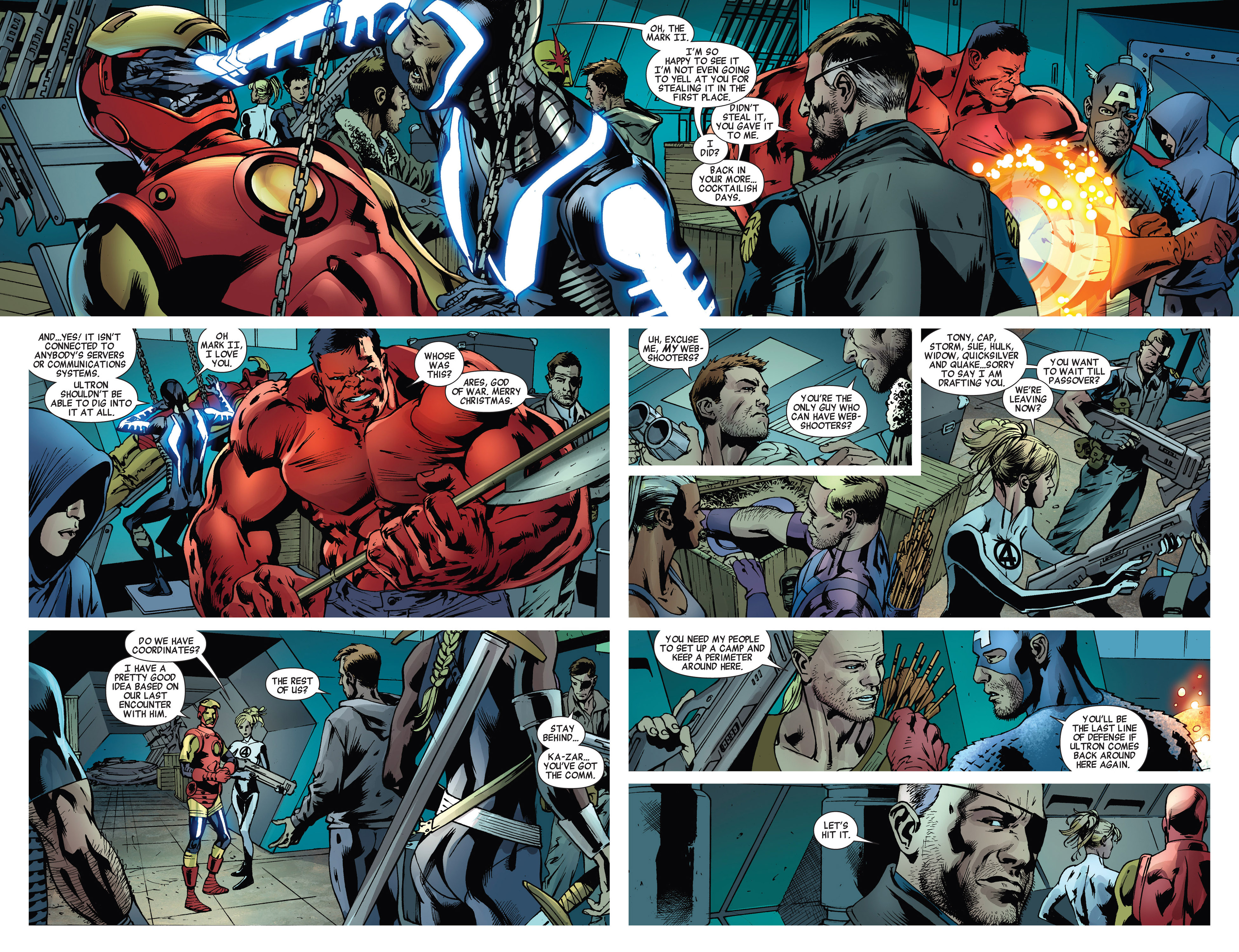 Read online Age of Ultron comic -  Issue #5 - 16