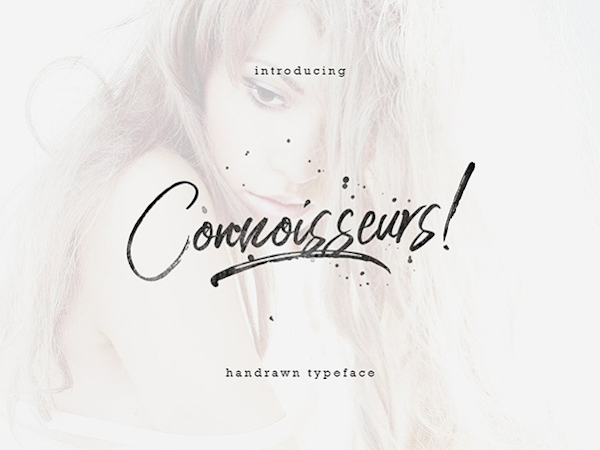 Download Connoisseurs Handwritten Typeface Free
