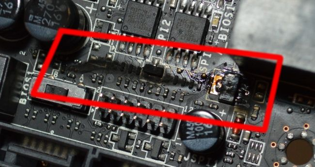 How to Fix a Shorted Out Motherboard