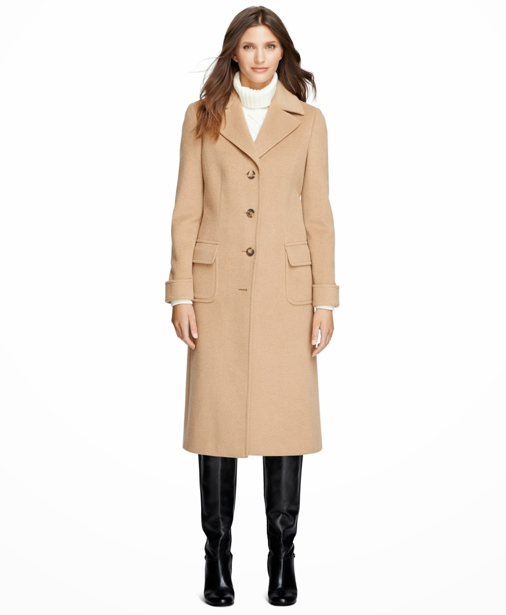 Womens polo coats