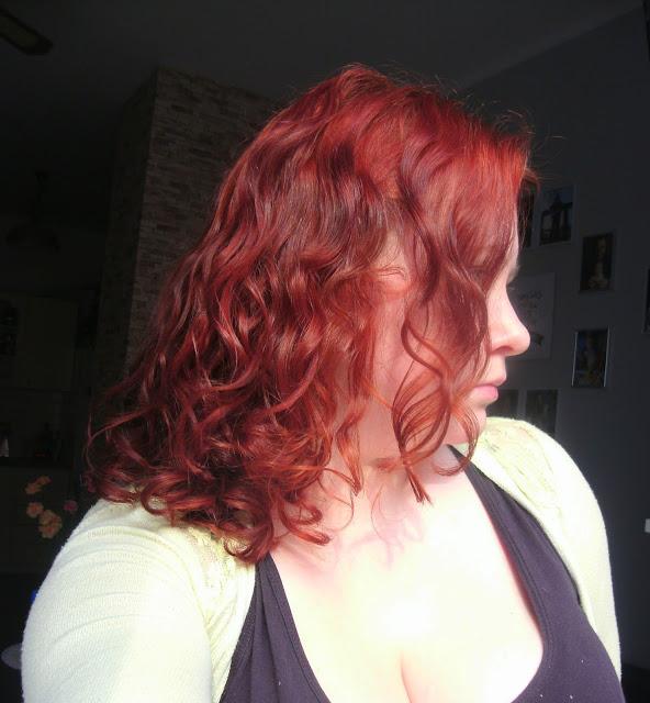 Dzień dla włosów - keratynowe doładowanie :)