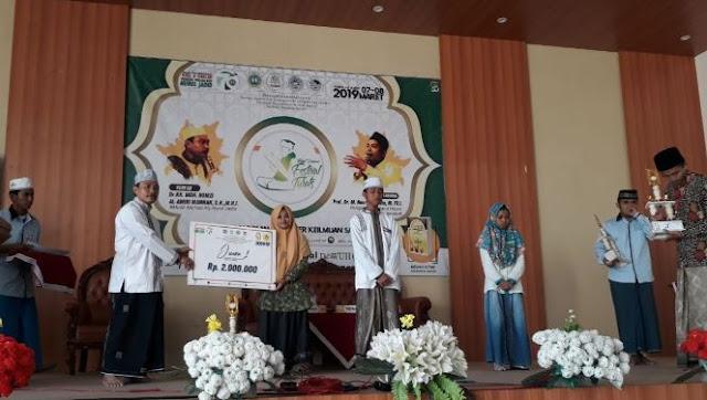 Santri Zainul Hasan 1 Genggong Juara Olimpiade Nahwu Shorof Nasional