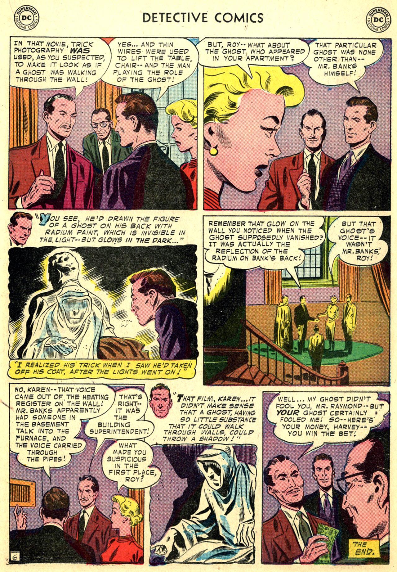 Read online Detective Comics (1937) comic -  Issue #249 - 23